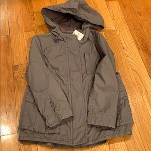 NWT Gap olive green utility jacket Size XS 4-5